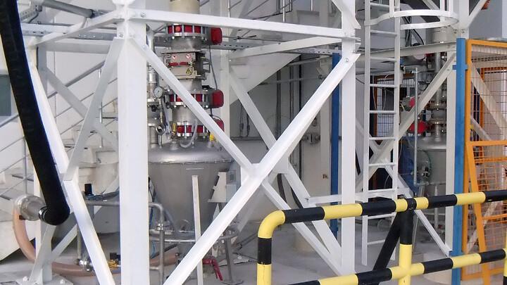 Schneider Elektrik | bulk handling SiO2