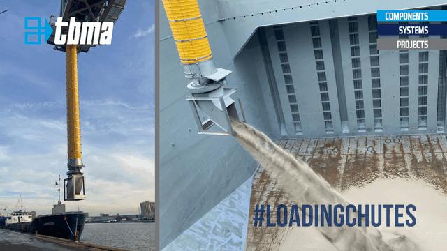 TBMA beladingsbalg loading chute