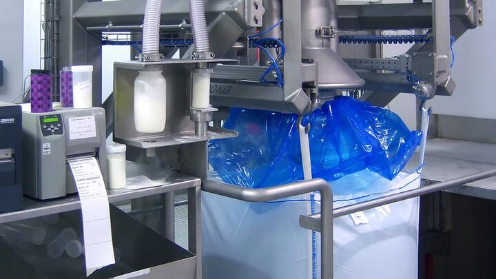 TBMA Big-Bag vullen hi-care sanitaire oplossing