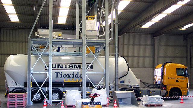 TBMA Big-Bags naar Bulk componenten en systemen voor value added logistics