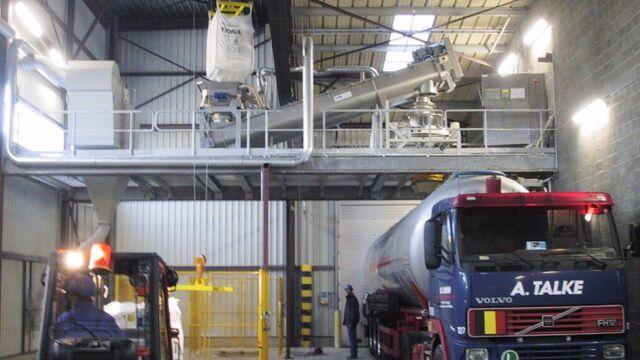 TBMA Bulk naar Big-Bags en Bins componenten en systemen voor value added logistics