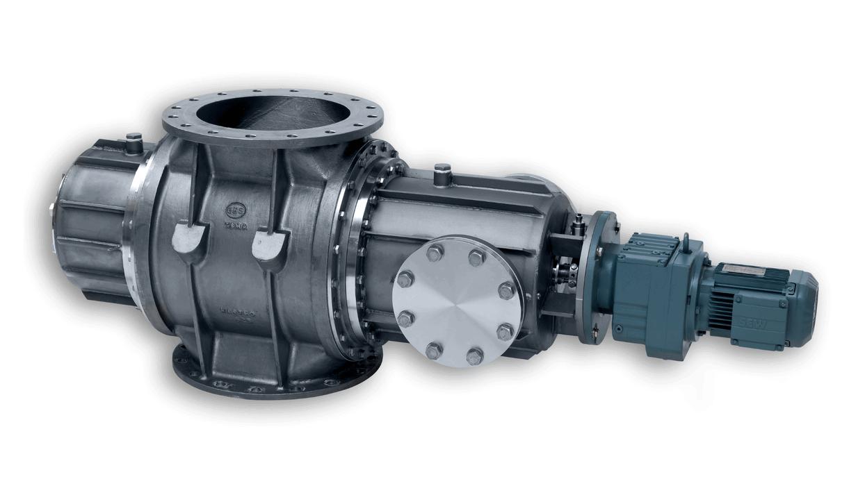 TBMA custom made special duty rotary valves