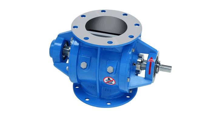 TBMA H-AR drop-through rotary dosing valve