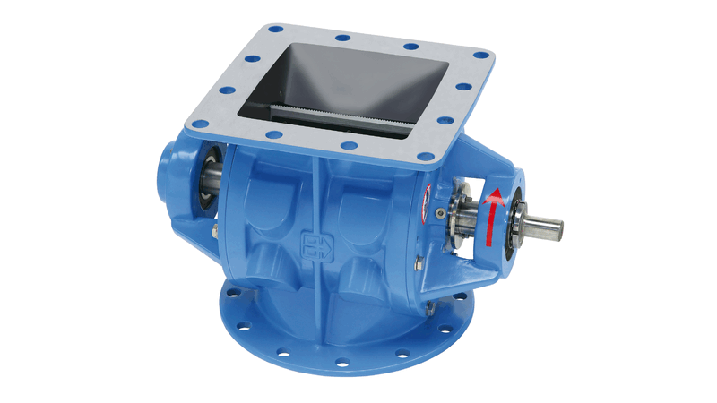 TBMA H-AX drop-through rotary dosing valve