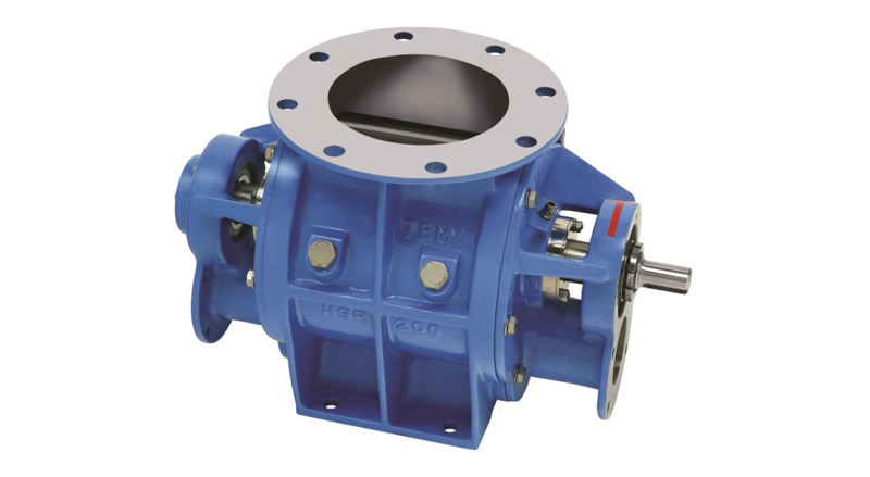 TBMA H-GR drop through rotary valve