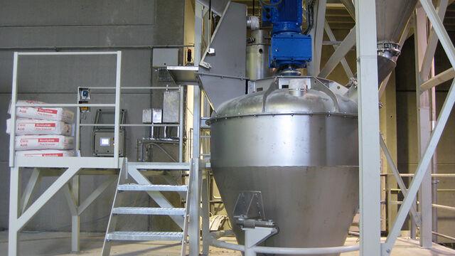 TBMA mixer voor mengen en homogeniseren voor chemie plastics industrie