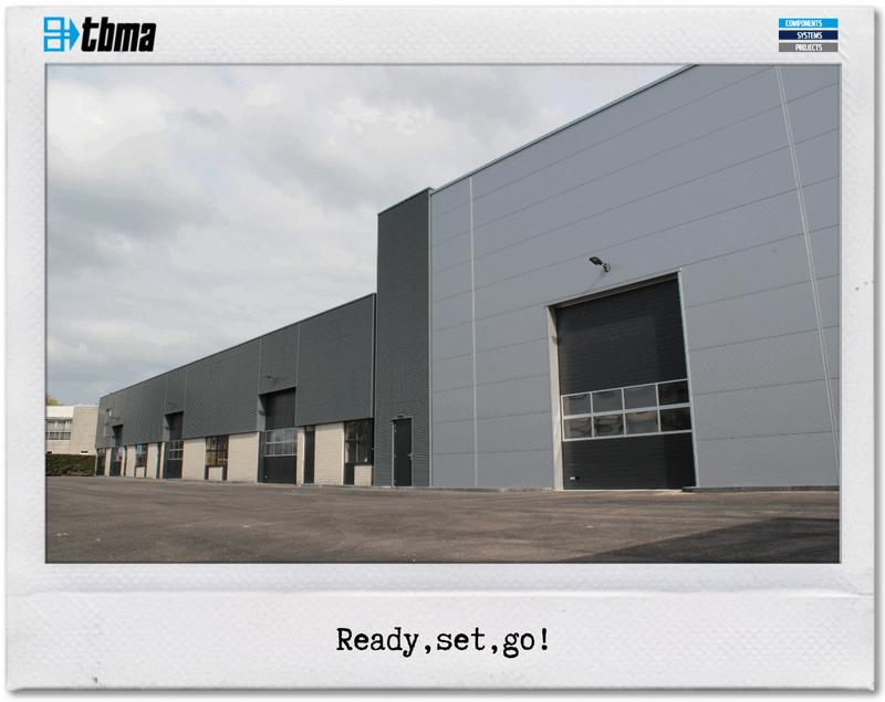 TBMA new building solution bulk solids handling