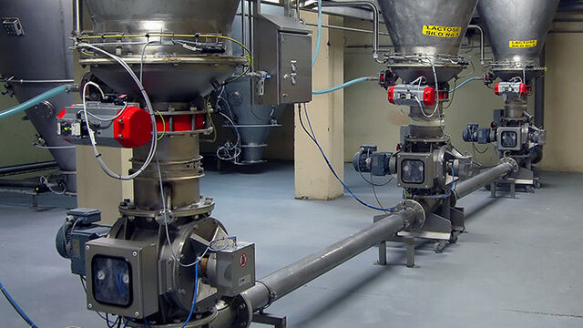 TBMA Pneumatic conveying food and dairy industry