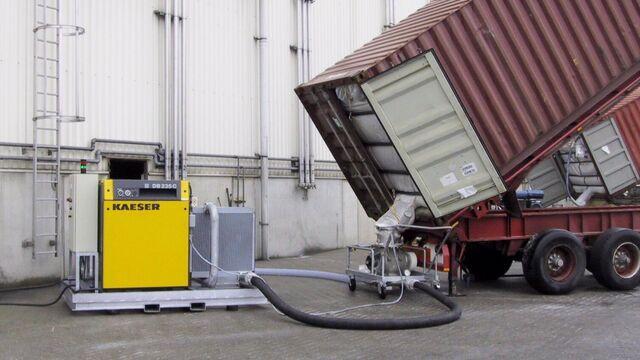 TBMA pneumatisch transport componenten en systemen voor value added logistics