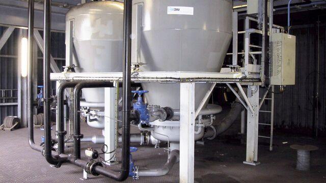 TBMA pneumatisch transport voor mineralen industrie