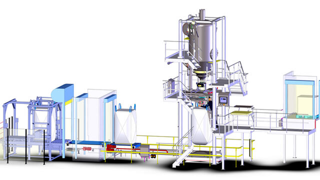 TBMA project hygienic sanitary bigbag line milk powder