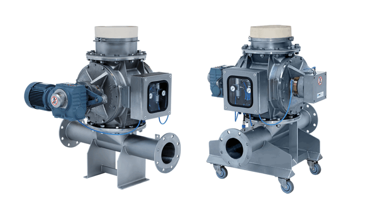 TBMA rotary valves options and accessories