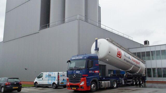 TBMA silo opslag en uitdragen value added logistics