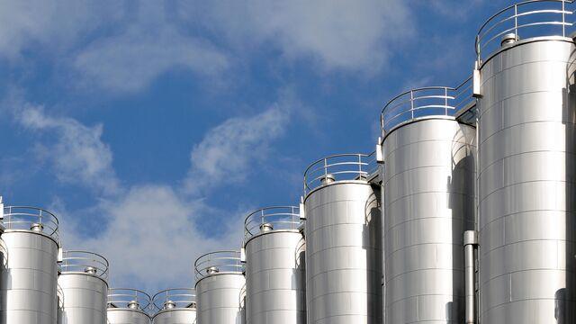 TBMA silo opslag voor voedingsmiddelen en dairy producten