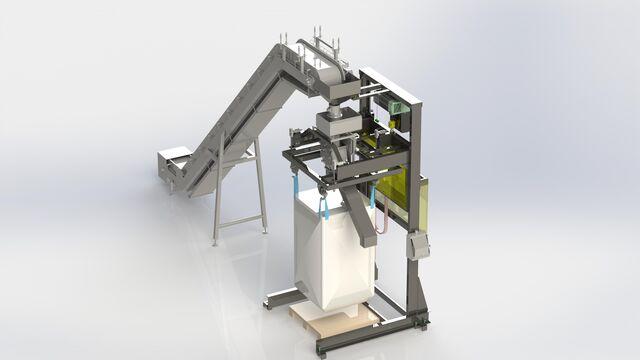 TBMA smart solution bigbag filling unit