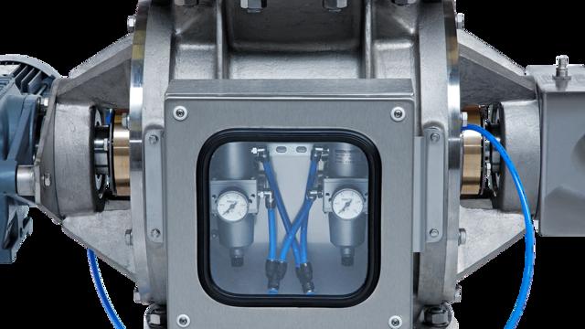 TBMA special-duty doseersluis labyrinth asafdichting luchtbewakingssysteem