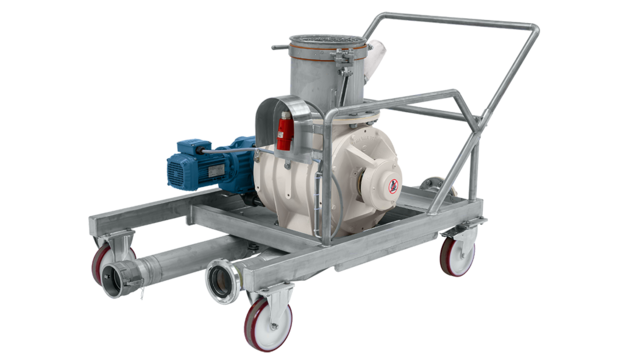 TBMA special-duty mobile rotary valves lined container transport