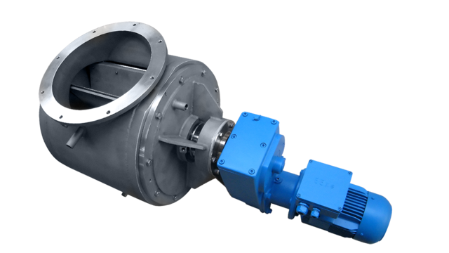 TBMA special-duty rotary valve with steam tracing