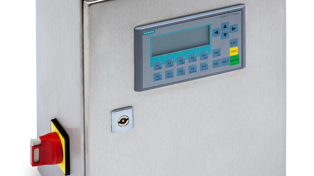 TBMA SRF high-end sampler control unit