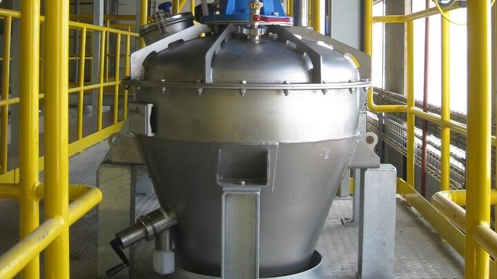 TBMA Turbo mixer - high speed dissolver Type TBM