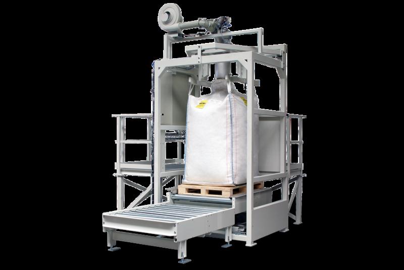 TBMA VB Big-Bag filling system