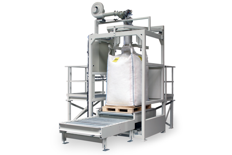 TBMA VB Big-Bag vulsysteem